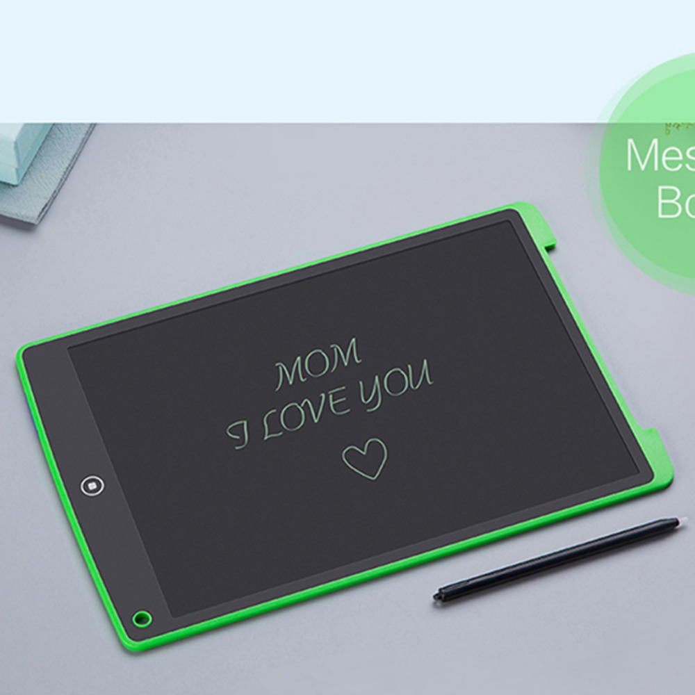 12 inch Digital LCD Drawing Tablet Notepad Kids Drawing Toys Baby Early Educational Writing Board Electronic Handwriting Tablet