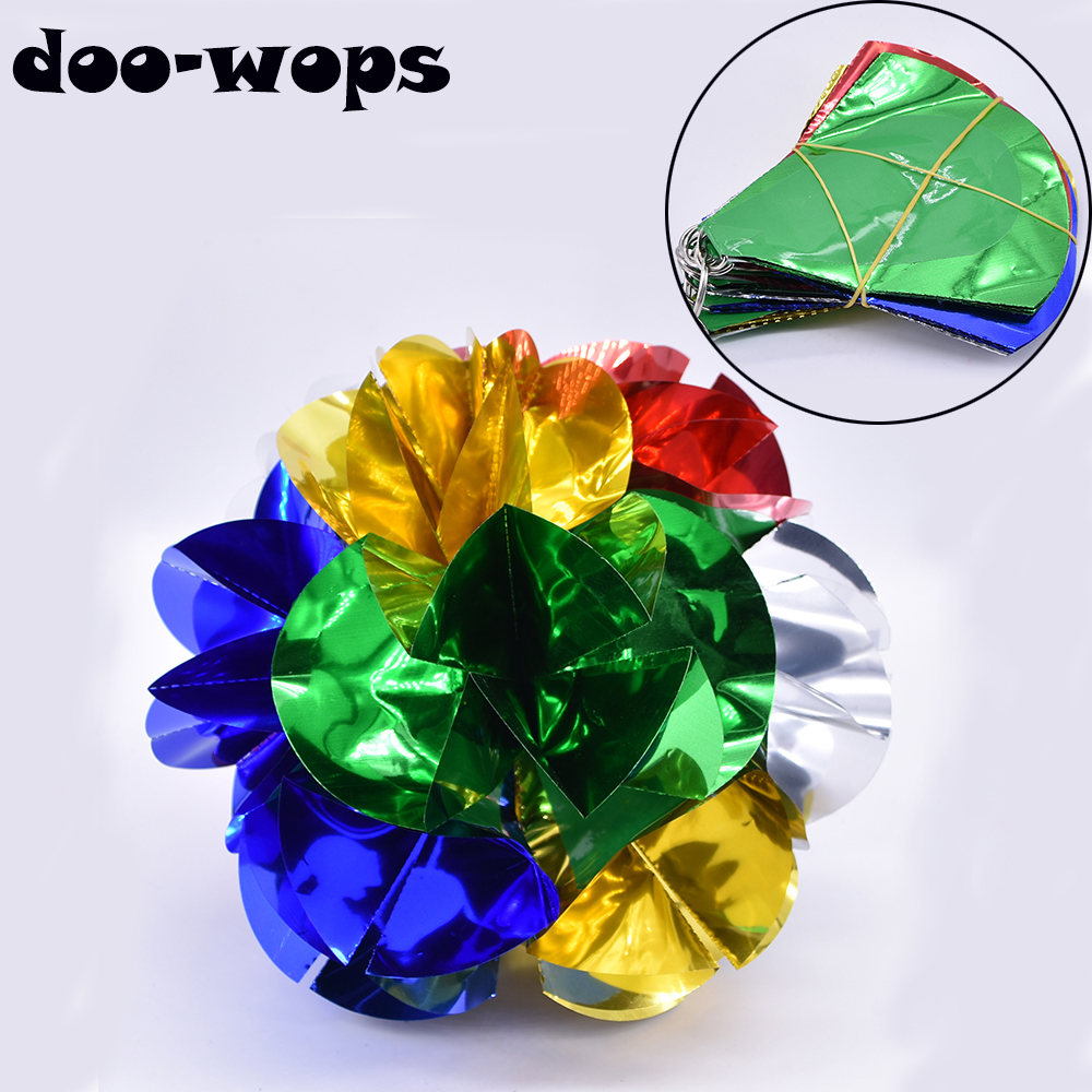 Empty Hand Appearing Flower Ball Spring Flowers Magic Tricks Stage Illusions Gimmick Prop Accessories Appear Large Bouquet Magia
