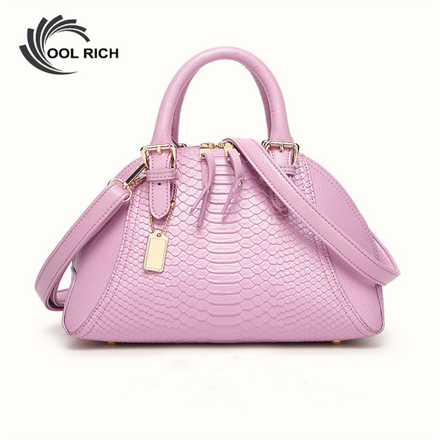 2016 New Brand Design Handbag European and American Style Fashion Crocodile Pattern Shell Bag Hand Shoulder Messenger Bag Lady