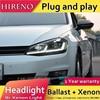 Car Styling Head Lamp For VW GOLF 7 MK7 Upgrade To MK7 5 Design Golf 7