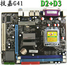 3 g41 motherboard 775 needle cpu ddr2 ddr3 fully integrated 1g board