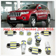 Фотография 11 set White LED Lights Interior Package T10 & 31mm Map Dome For Jeep Grand Cherokee  2013-2016
