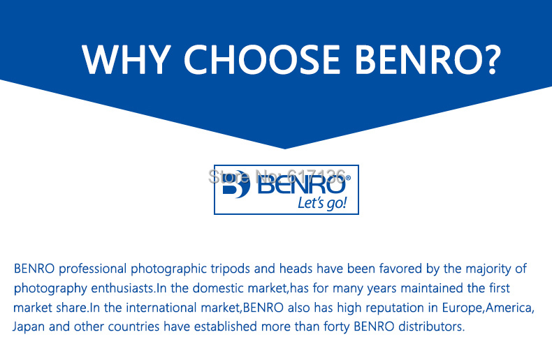 WHY CHOOSE BENRO-01