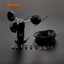 DFRobot Anemometer wind speed Sensor Kit JL FS2, Output 0~5V DC range 0~30m/s compatible with arduino for weather acquisition