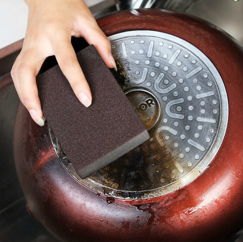 Nano Emery Magic Cleaning Brush Sponge Rub Pot Rust Focal Stains Removing Tool Vacuum Cleaner Parts Home Appliance Parts