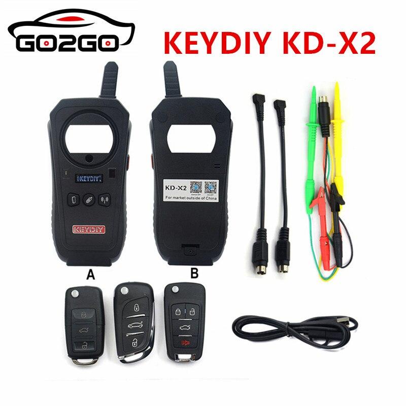 Vente chaude KEYDIY KEYDIY KD-X2 Clé De Voiture De Porte De Garage À Distance kd x2 Generater/Puce Lecteur/Fréquence
