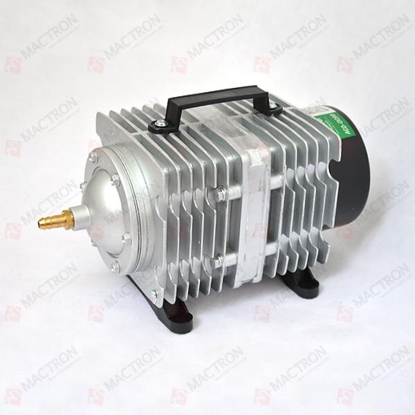 135W Air Compressor/ Pump For CO2 Laser AC110V oil free air compressor high pressure gas pump spray woodworking air compressor small pump 3 1100 100l
