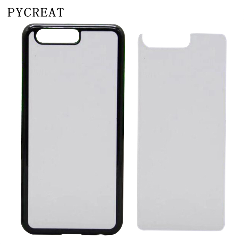 Us 1536 16 Off2d Sublimation Blank Case For Huawei P10 Lite P10 Plus Back Cover Hard Plastic Heat Transfer P10 Coque With Metal Aluminum Plate In