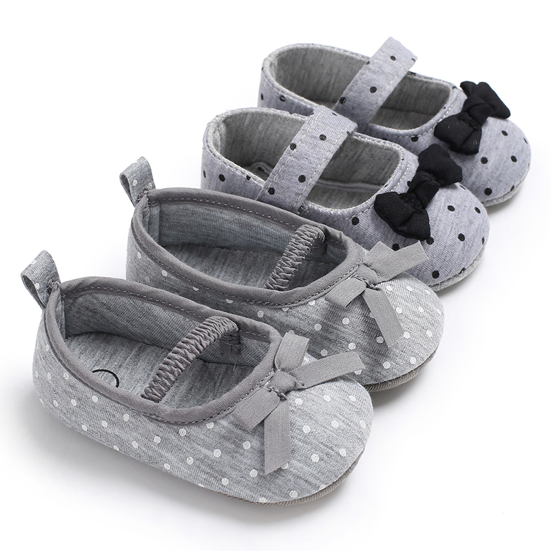 US Baby Shoes Newborn Infant Pram Mary Jane Girls Princess Moccasins Soft Moccs