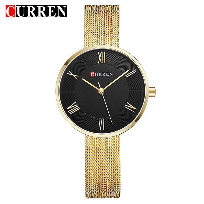 CURREN Brand Luxury Women Bracelet Watches Fashion Women Dress Wristwatch Ladies Quartz Female Clock Relogio Feminino