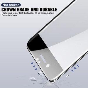 Image 5 - Vidrio protector de borde curvado 30D para iPhone 11 Pro Max 7 8 6 Plus vidrio templado para 11 Pro X XR XS protector de pantalla máx.