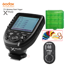 Godox XPro-C Flash Trigger Transmitter E-TTL II 2.4G Wireless X System HSS+XTR-16 Receiver for Canon with AD180 AD360 AD360II-C