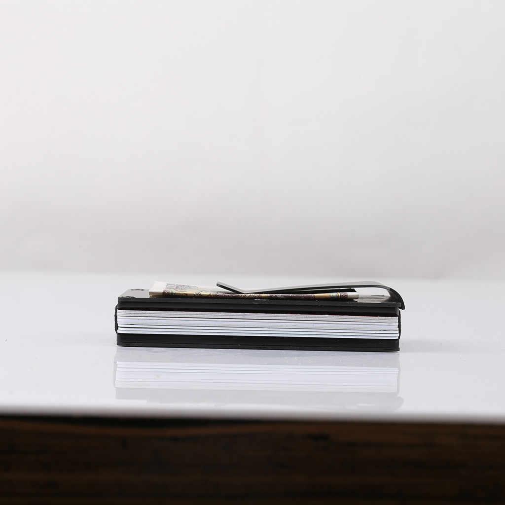 Мужская сумка модная коробка для карт из углеродного волокна ультра тонкий металлический держатель кредитные tarjetero hombre erkek cuzdan baellerry мужские кошельки
