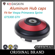KODSAKIN  Aluminum Hubcaps Wheel Covers Hubcap Center Caps for Vespa GTS300 Primavera Sprint 150