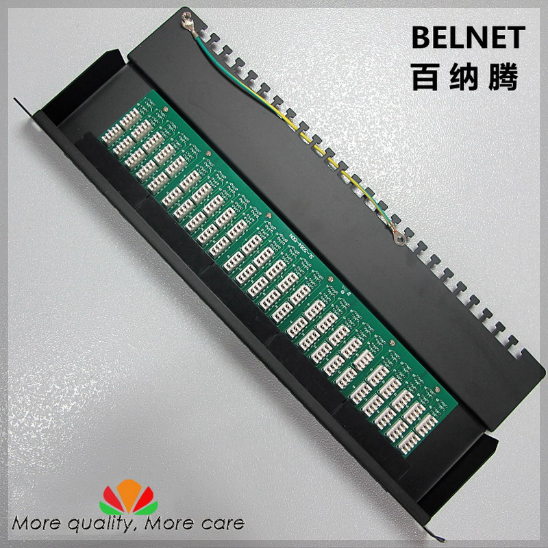 все цены на 50-ports telephone voice patch panel telecommunication engineering grade 19-inch 1U PCB type RJ11 patch panel distribution frame онлайн