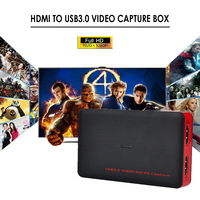 USB 3.0 Game Video Capture hdmi 1080P USB3.0 Superior AV Capture Box For PS3 PS4 XBox One Playstation TV HD Camera PC Endoscope
