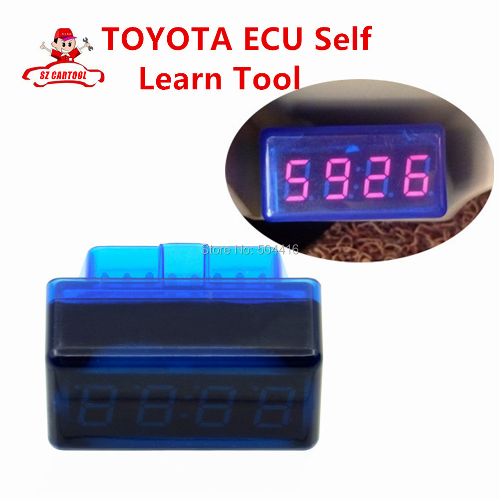 ФОТО Hot selling For TOYOTA ECU Self Learn Tool Free Shipping with best price shipping free