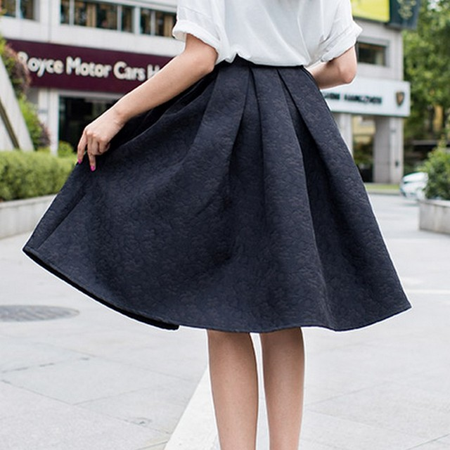 Spring Poodle Skirt for Women