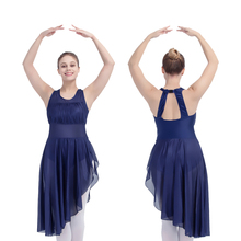 Retail Wholesale White Halter Dance Leotard Dress Pink Girls Ballet Dancewear Blue Ladies Performance Costume