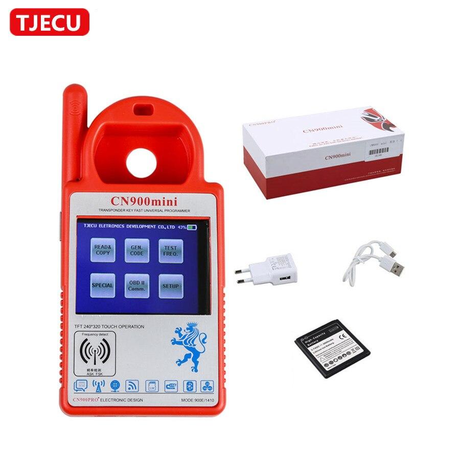 TJECU CN900 Mini Transponder Key Programmer Work for 4C 46 4D 48 G Chips