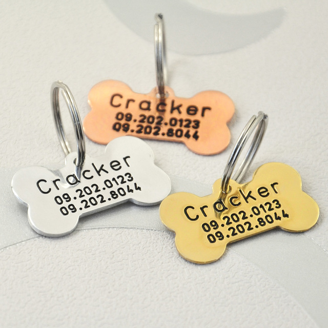 custom dog tag personalized id engraving personalized pet id tag