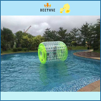 Latest design transparent inflatable water roller ball price,human sized hamster ball, roller water walking ball price