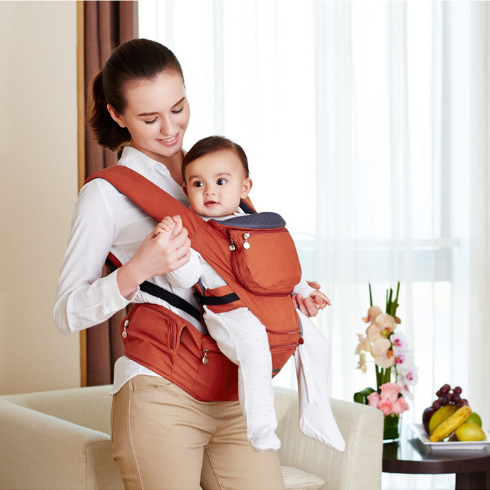 (wholesale) Hot Selling most popular baby carrier Top baby Sling Toddler wrap Rider baby backpack high grade hipseat carriage