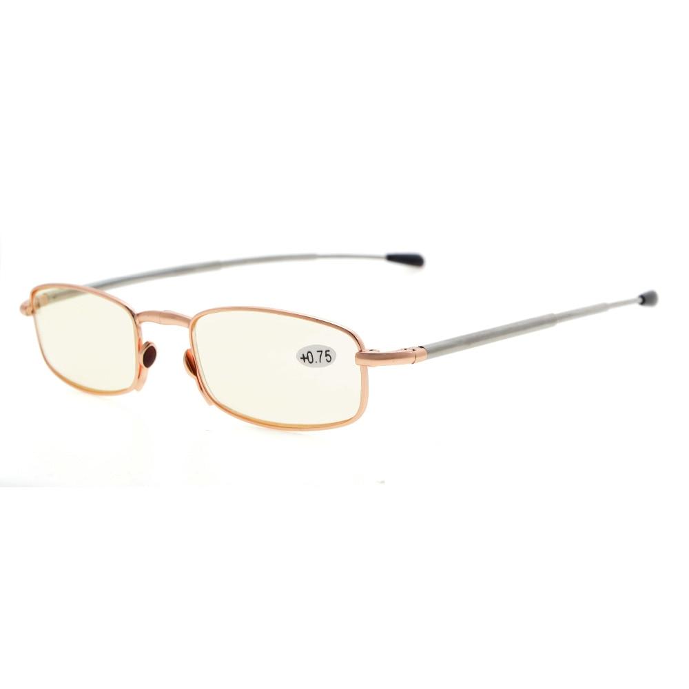 Eyekepper 4-pack di plastica pieghevoli occhiali da lettura+2.00 IQPh5sI