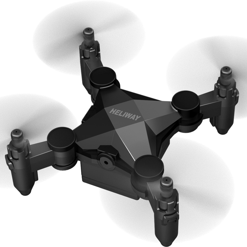 Image 2 - Drones With Camera HD HELIWAY 901 Mini RC Helicopter Drone For Kids Or Beginner Quadcopter With Camera HD remote controlled-in RC Helicopters from Toys & Hobbies