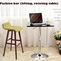 Топ, Способен вращающийся и подъем бар, Компьютерный стол, Бар мебельных изделий, Блестящая металлическая основа