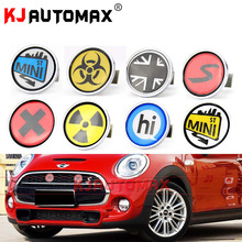 Mini Cooper Metal Front Grille Emblem Badge Set Sticker Accessories Countryman Clubman all version