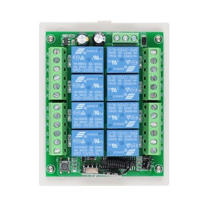 Image 4 - 433Mhz DC 12V 8 CH RF Wireless Remote Control Switch Remote Control System 8CH Relay Receiver +8 Button Transmitter