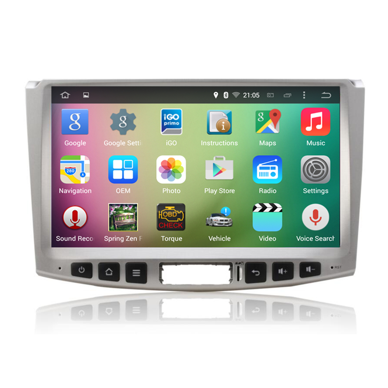 10.1″ Android 5.1 Quad Core Car Stereo Audio Autoradio Head Unit Headunit for VW Volkswagen Magotan Passat CC B6 B7 2012-2014