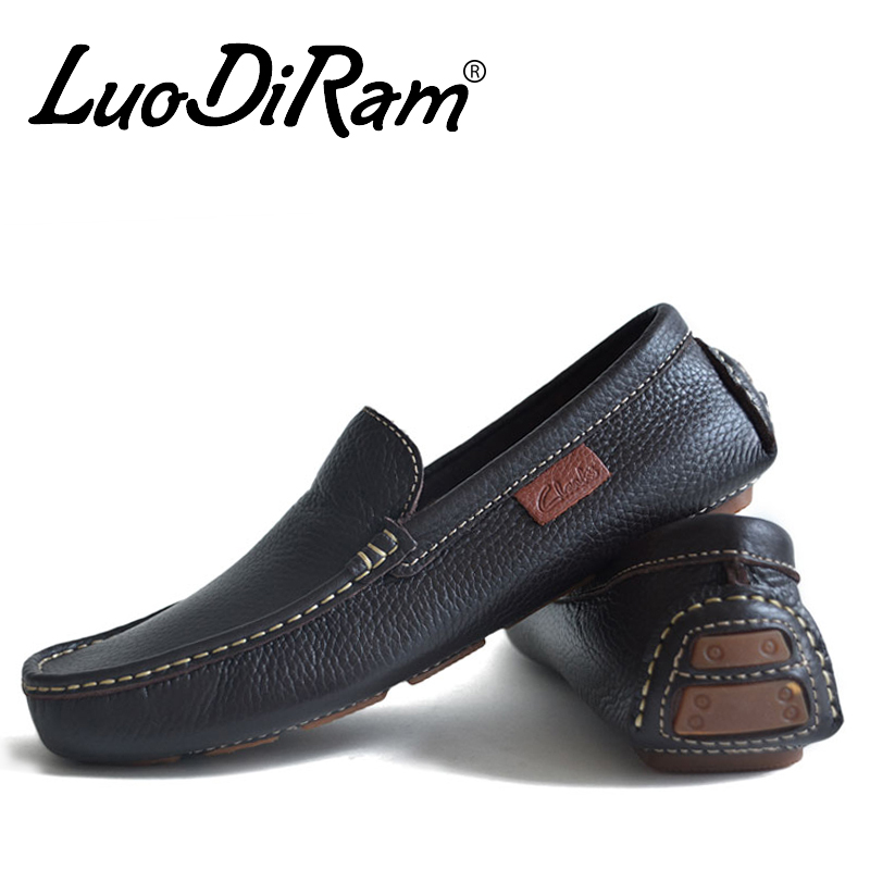 luodiram brand 2016 high quality genuine leather shoes