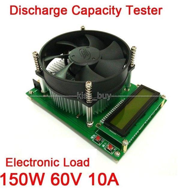 150 W Corrente Constante 10A Capacidade de Descarga Da Bateria Testador de Carga Eletrônica kn