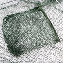 1PC Folded Fishing NeT Closed Fish Shrimp Minnow Crab Cage Fishing Gear New M7926