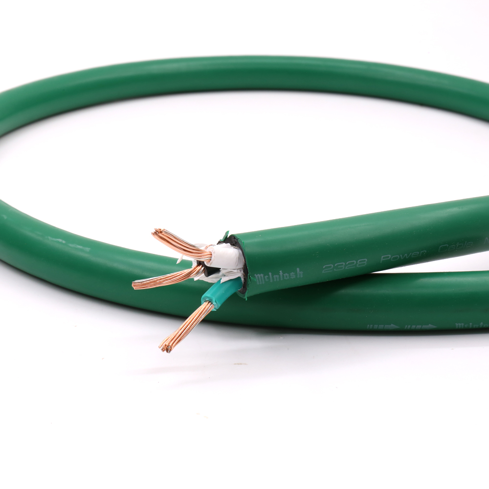 1M HIFI USA 5N copper and silver mixing <font><b>Mcintosh</b></font> <font><b>2328</b></font> POWER CABLE Power Cord line for hifi Diy power cable image