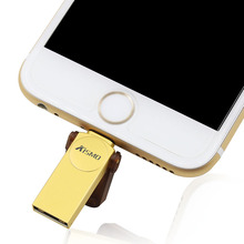 For Iphone SE 5s 6s Ipad Metal OTG Usb Flash Drive 16GB 32GB 64GB Cle usb Stick Pendrive usb key Android SmartPhone Tablet PC