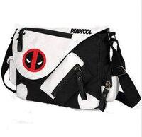 Deadpool Face Backpack Comic Super Hero Pocket Shoulder Backpack Bag New