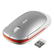 Wholesale 1 Price 5 color Slim Mini office gaming mouse USB Wireless Optical Mouse For PC Laptop Win 7 Vista XP