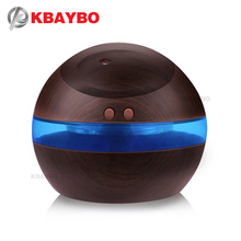 USB Aroma Essential Oil Diffuser Ultrasonic Mist Humidifier Air Purifier LED Night light for Office Home 290ml