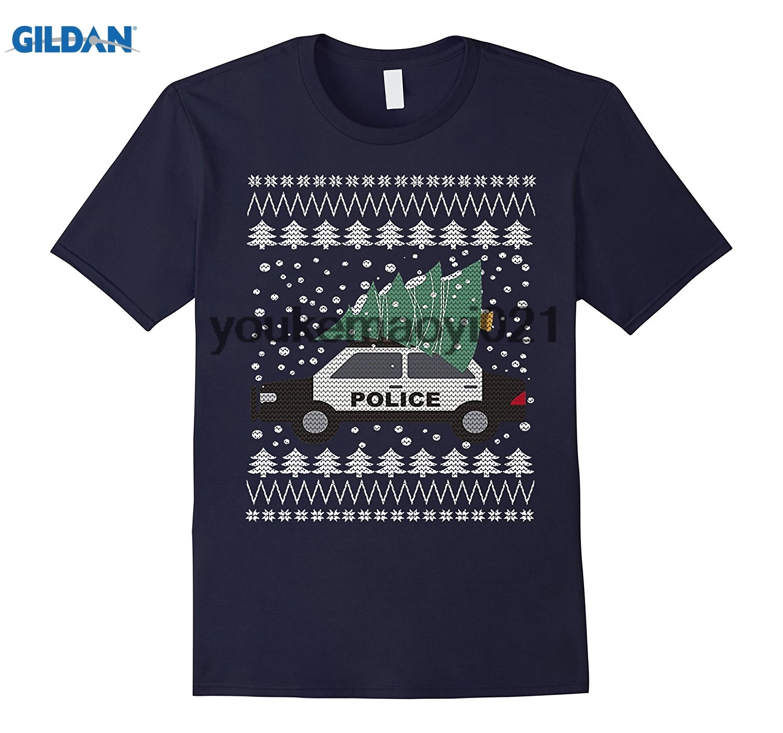 GILDAN Po-lice Christmas Sweater T Shirts