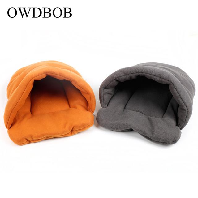 Pet Dog Winter Warm Nest Cave Bed