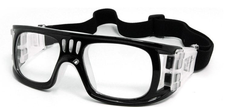 Basketbalbril voor heren, damesbril met doorzichtige lens, - Team sporten - Foto 2
