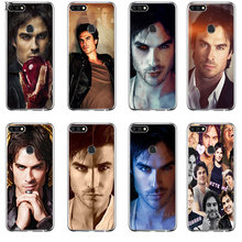 Phone Case Cover The Vampire Diaries Ian Somerhalder For Honor Note 6A 6C 7A Pro 7C 7X 8X 9 10 Lite Play(China)