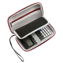 Black Travel Portable EVA Zipper Case Protective Storage Portable Handle Bag for CASIO FX-991DE/FX-991EX(China)