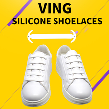 14pcs VING Lazy Elastic Silicone Shoelaces No Tie Running Sneakers Strings Shoe Laces недорого