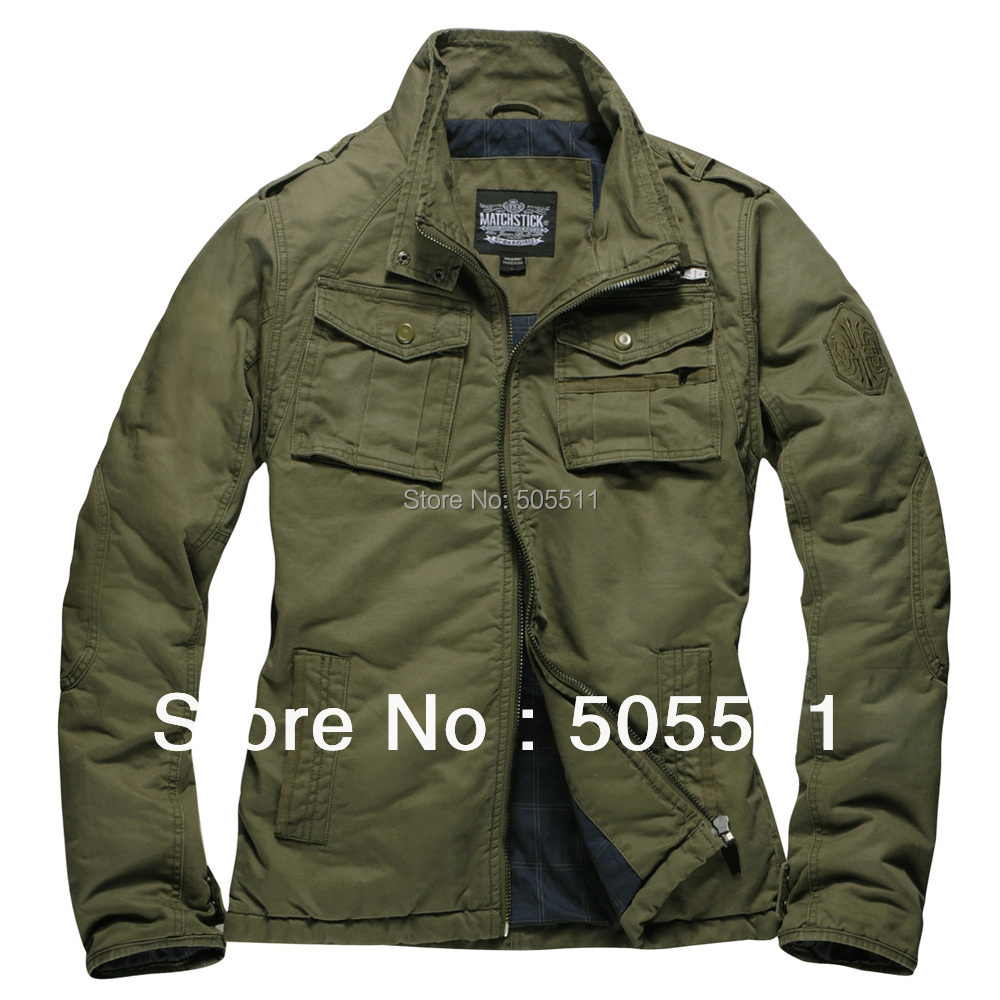 Aliexpress.com : Buy Match Mens High quality Lined Jacket Military ...