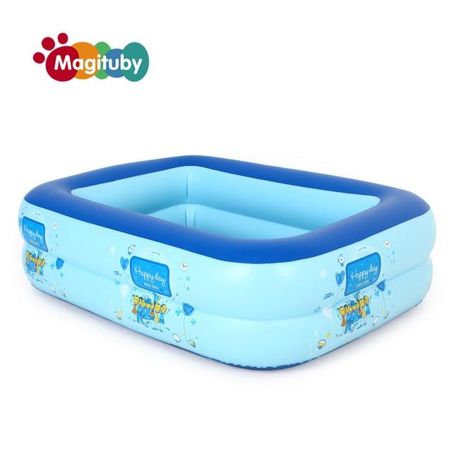 1109035cm Inflatable Baby Swimming Pool Eco Friendly PVC Portable Children Bath