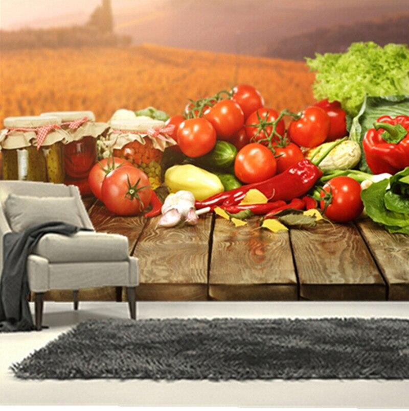 Restaurant Kitchen Wallpaper popular wallpaper for walls vegetable-buy cheap wallpaper for